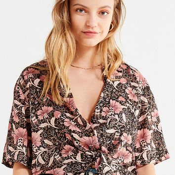 UO Souvenir Button-Down Shirt | Urban Outfitters