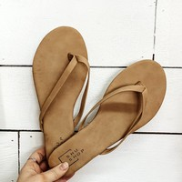 Stay With Me Sandal - Nude