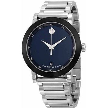 Movado Museum Stainless Steel Men's Watch, 0607004