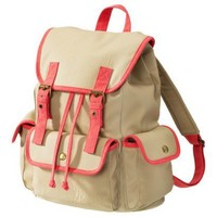 Xhilaration® Tan/Orange Neon Backpack