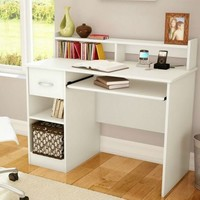 White Study Desk For Children And Students