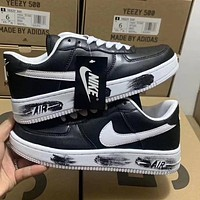 Nike x PEACEMINUSONE Men's and Women's Simple Wild Flat Sneakers Shoes