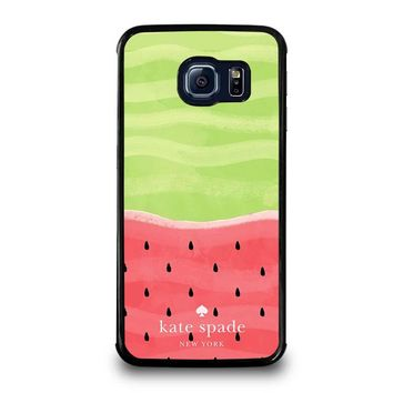 KATE SPADE WATER MELON Samsung Galaxy S6 Edge Case Cover