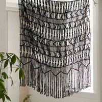 Magical Thinking Kushi Macrame Wall Hanging-