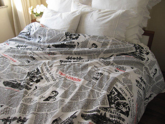 Twin Xl Duvet Cover Dorm Bedding From Nurdanceyiz On Etsy
