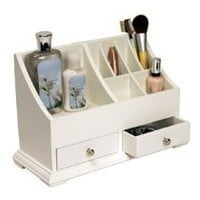 Richards Homewares Personal Organizer, White Finish