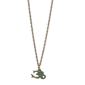 Turquoise OM Necklace