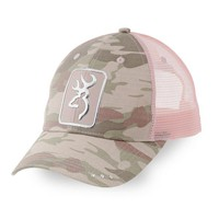 Browning Digby Pink Camo Hat