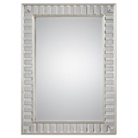 Lanester Silver Leaf Mirror by Uttermost