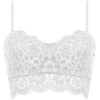 small lace top woman