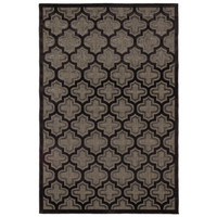 "5' x 7'6"" Carcassonne Rug in Black and Dark Gray - Beyond the Rack"