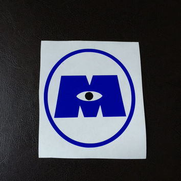 Monsters Inc Decal Any Color Any Size