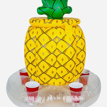 BIGMOUTH INC. Inflatable Floating Pineapple Beverage Cooler | Inflatables