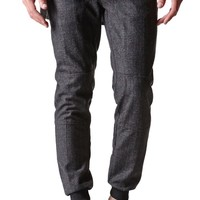 The New Standard Edition Charles Slim Wool Jogger Pants - Mens Pants - Black