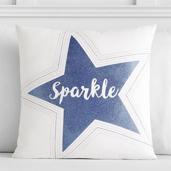 Bright Spirits Sparkle Pillow Cover