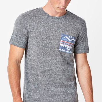 ONETOW On The Byas Rocky Tribal Pocket T-Shirt at PacSun.com