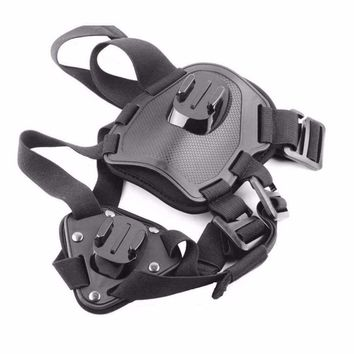 New Dog Fetch Harness Chest Strap Belt Adjustable Mount With Screw For Gopro Hero 4/3+/3/2/1 Sports Camera Pet Accessories Nylon