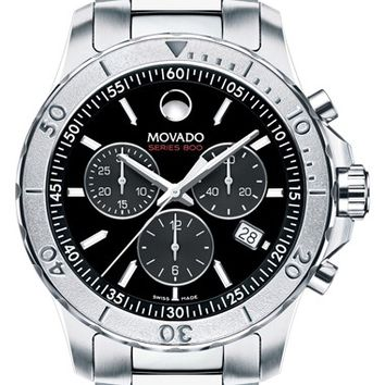 Men's Movado 'Series 800' Chronograph Bracelet Watch, 42mm