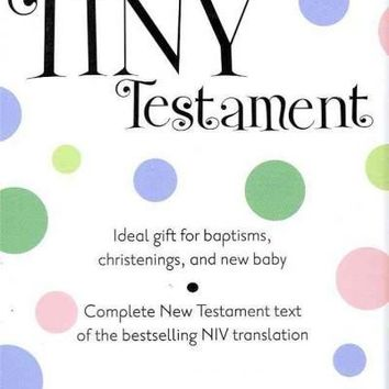 Holy Bible: New International Version, Pink Leather-Look, Tiny Testament, Complete New Testament: Holy Bible