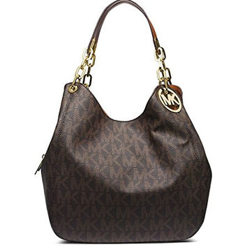 Michael Kors Large Logo Shoulder Bag Fulton Small Crossbody bag Fulton Carryall Wallet