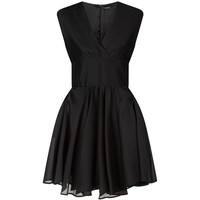 Maje Textured V-Neck Dress | Harrods.com
