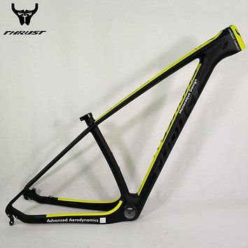 Thrust Carbon Mountain Road Bike Frame 29er Thru Axle 142*12/135*9