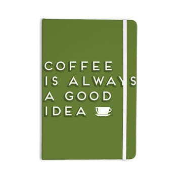 """Busy Bree """"Good Idea"""" Green Tyopgraphy Everything Notebook"""
