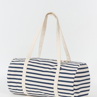 Canvas Duffel - Sailor Stripe