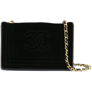 Chanel Vintage Line Stitched Chain Bag - Farfetch