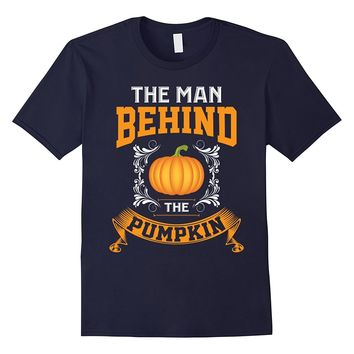 Funny Proud The Man Behind Pumpkin Pregnancy Gifts T-shirts