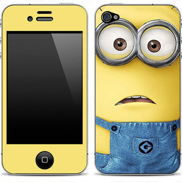 Despicable Me Frown iPhone 4/4s iPhone 5 iPod Touch by DesignSkinz