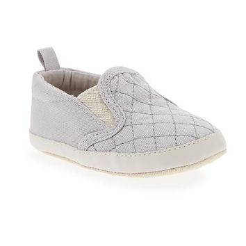 Old Navy Quilted Canvas Slip Ons