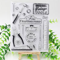 Original Tools Transparent Clear Silicone Stamp Seal for DIY scrapbooking photo album Decorative clear stamp sheets