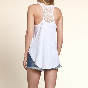 Shakespeare Lace Graphic Tank