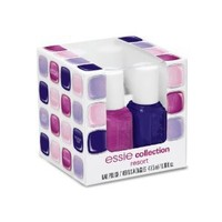 Essie 2012 Resort Collection Nail Color Mega Mini Color Cube 4 piece