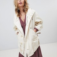 Free People Slouchy Utility Jacket at asos.com