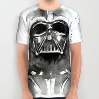 Darth Vader All Over Print Shirt by Olechka