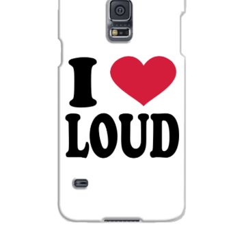 I Love Loud - Samsung Galaxy S5 Case