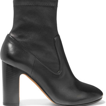 Vince - Calist stretch-leather ankle boots