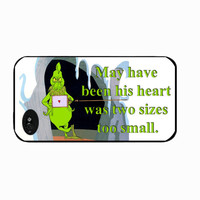 Mr. Grinch , grinch, the grinch Iphone 4 case, Grinch heart