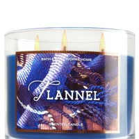 3-Wick Candle Flannel