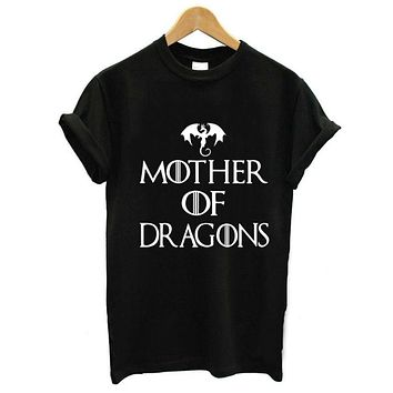 Mother Of Dragons Graphic Tee Shirt