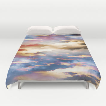 Combateur Duvet Cover by HappyMelvin Graphicus