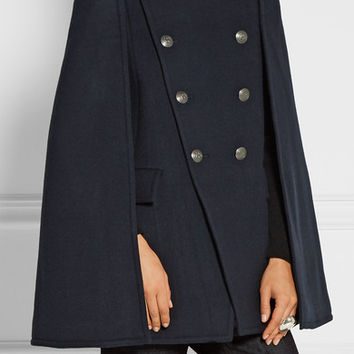 Pierre Balmain - Double-breasted felt cape