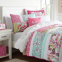 Daisy Patch Quilt + Sham
