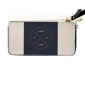 Jadeline clutch travel wallet