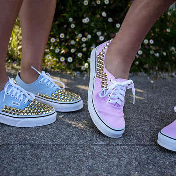 Studded Vans Shoes