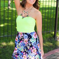 Lime-A-Rita Breeze Dress