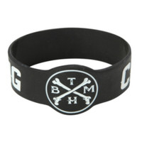 Bring Me The Horizon Crooked Young Rubber Bracelet