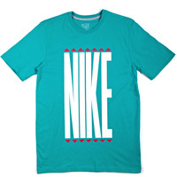 Tees - Nike Stretch Tee - Turquoise - DTLR -  Down Town Locker Room. Your Fashion, Your Lifestyle!